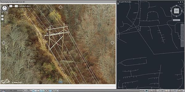 Northeast Utility Company towers