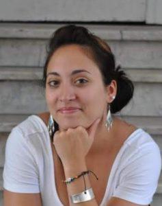 Critical360 team member Amanda Nargi, geospatial image processor