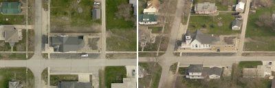 Orthogonal imagery vs oblique imagery
