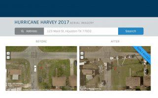 Hurricane Harvey Image Viewer
