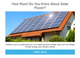 solar power quiz