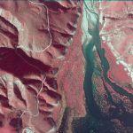 near infrared imagery california