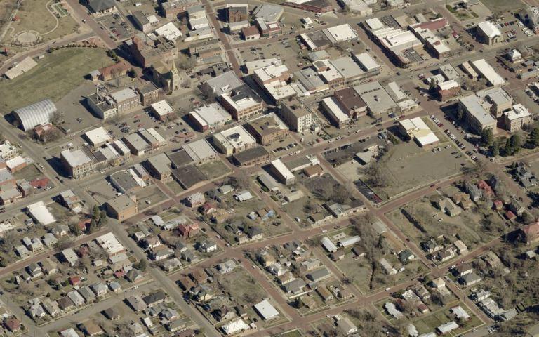 The City of Trinidad in Las Animas County, Colorado
