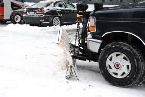 Snowplow Pickup Truck