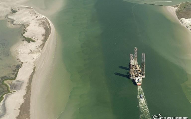 The Talisman in Corpus Christi Bay