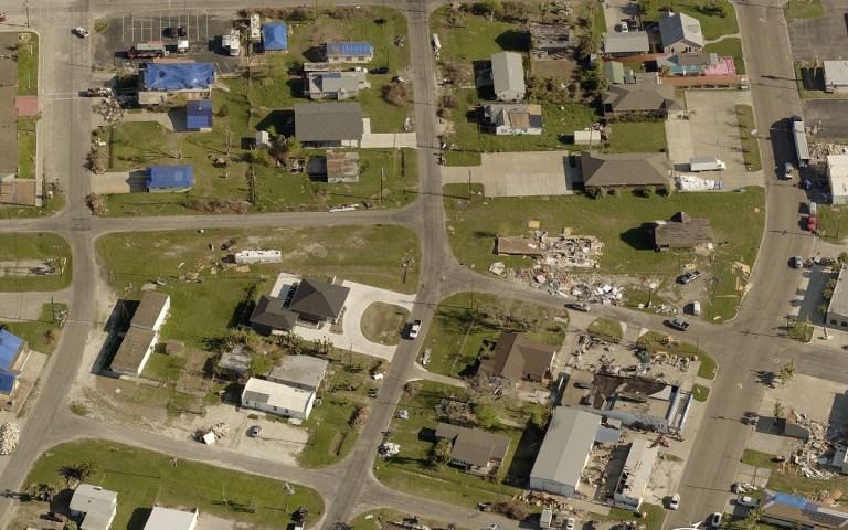 Aransas County, TX, after Hurricane Harvey