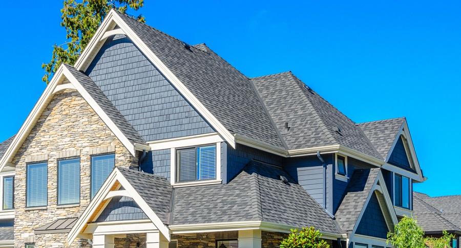 suburban home roof