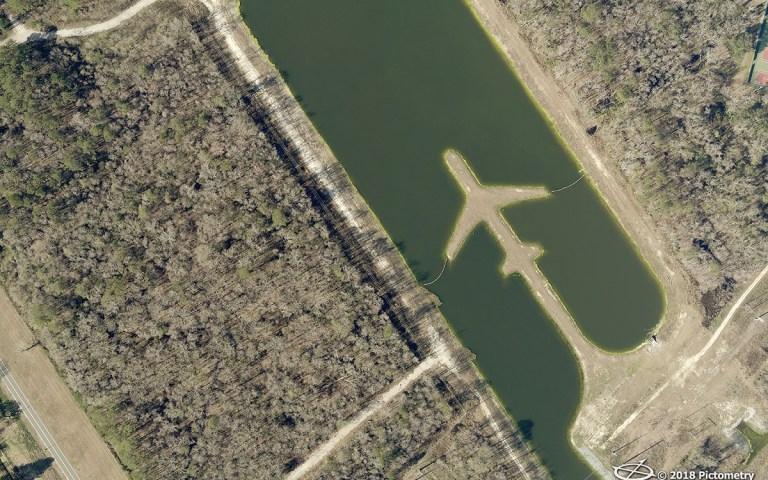 Boeing Company Pond in Charleston