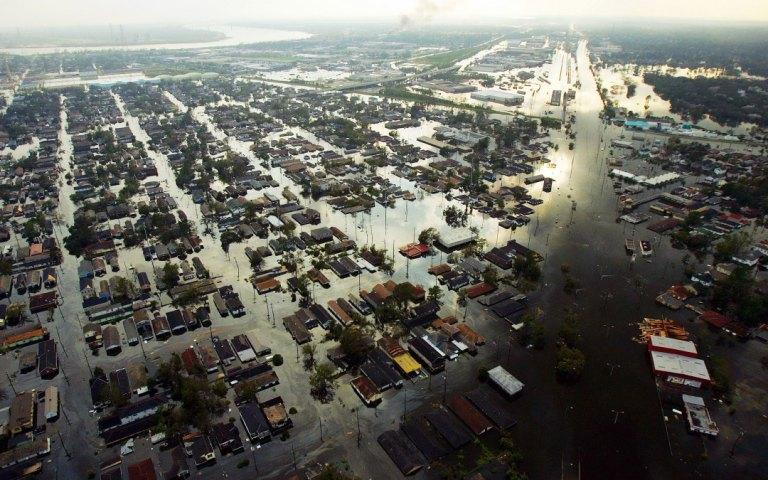 Underwater New Orleans